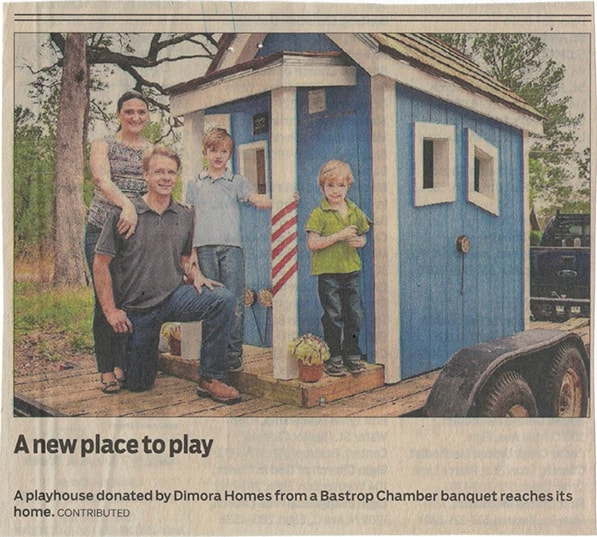 The True Family And Donated Playhouse